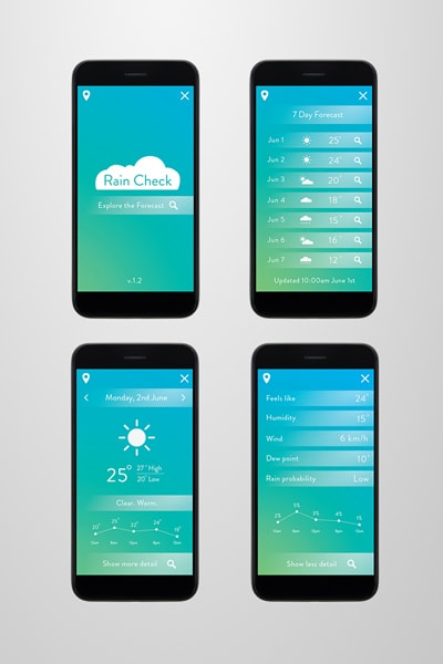 Weather Application UI
